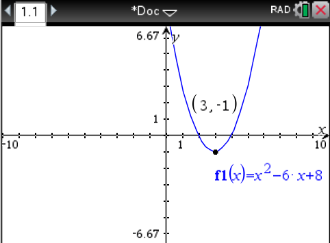 how to find a vertex of a quadratic function